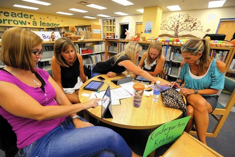 Teachers learn how to teach computer coding to kindergartners - Orlando Sentinel | COMPUTATIONAL THINKING and CYBERLEARNING | Scoop.it