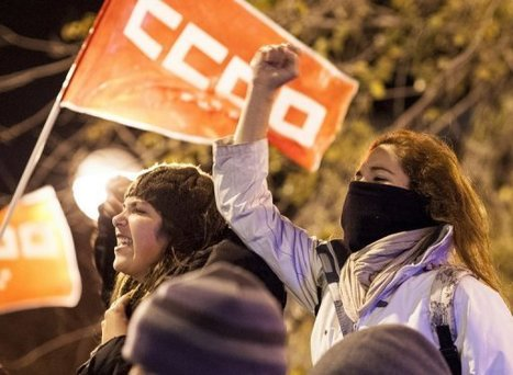 Clashes erupt amid Europe's anti-austerity protests | Deliberating Violent Revolution | Scoop.it