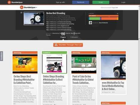 On-line Best Branding - StumbleUpon on Best Web Advertising | Best Online Shop Top Search Marketing | Scoop.it