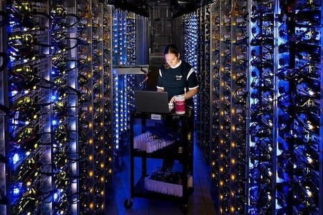 Sneak peek at Google's secretive data centres | Professional development of Librarians | Scoop.it