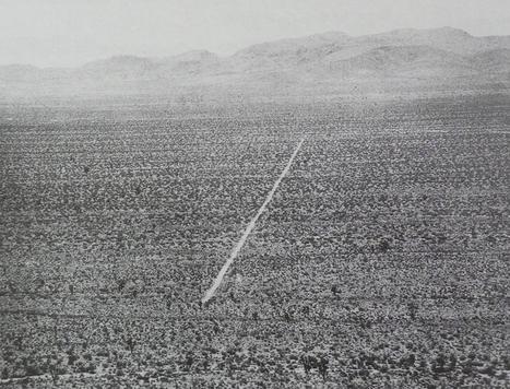 Walter De Maria, de la foudre aux kilomètres | Mon mémoire sur la frontière et la ligne. | Scoop.it