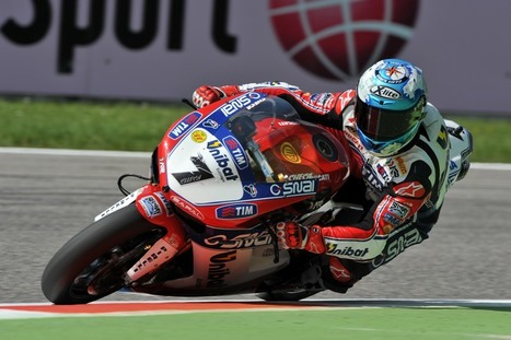 TOP TEN FOR CHECA AND GIUGLIANO (ALTHEA RACING) IN FIRST SBK QUALIFYING AT MONZA | Ductalk Ducati News | Scoop.it