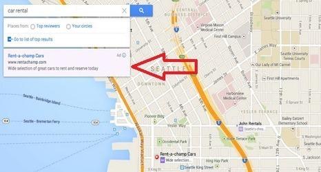 Intégration des annonces AdWords dans Google Maps. - Mikael Witwer | Mikael Witwer Blog | Scoop.it