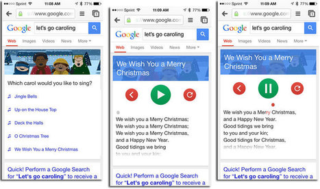 Going Holiday Caroling? Be Sure to Take Your iPhone and Google.com Along! | Go Go Learning | Scoop.it