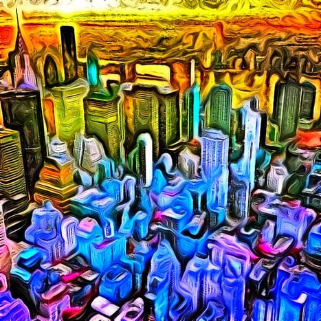 New York City Photo Impressions | NYC Art Photo From Above, Painting | New York City Photo Impressions | Scoop.it