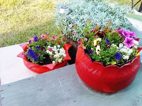 Comment on Charming DIY Ideas How to Reuse Old Tires by Pamela Lau Marques | Upcycled Objects | Scoop.it