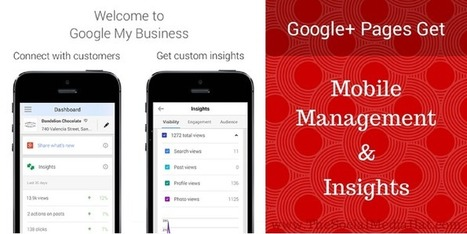 Google Plus Pages Get Mobile Management And Insights   The Content Marketing Hat   Scoop.it