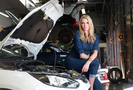 Model Jodie Kidd launches free car workshop for women | Women and cars | Scoop.it