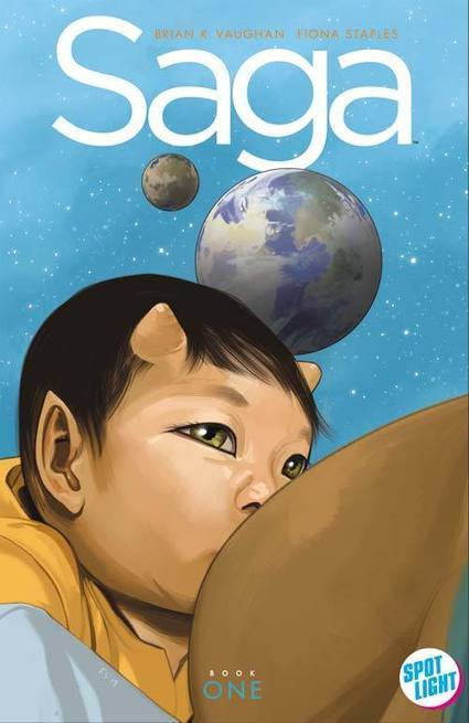 Saga Gets New Deluxe Hardcover Edition | Ladies Making Comics | Scoop.it