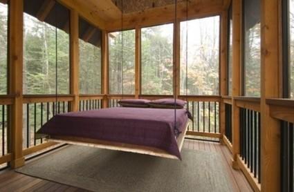 10 способов сделать подвесную кровать. Идеи для дизайна интерьера. | ars | Scoop.it