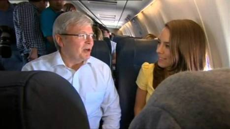 In The Air With Kevin Rudd - 15/08 | Government Relations | Scoop.it