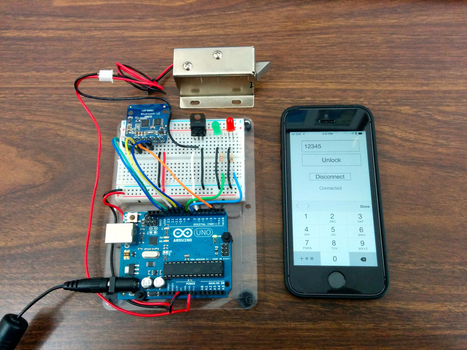 Controlling a lock with an Arduino and Bluetooth LE | Raspberry Pi | Scoop.it