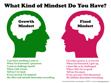 Growth vs Fixed Mindset For Elementary Students | LEARNing To LEARN | GrowthMindset | Leadership | Scoop.it