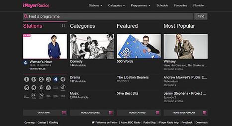 New version of BBC radio homepage launched | Radio 2.0 (En & Fr) | Scoop.it