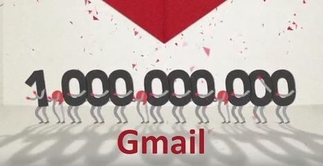 Gmail de Google a maintenant plus d'1 Milliard d'utilisateurs actifs | Référencement internet | Scoop.it