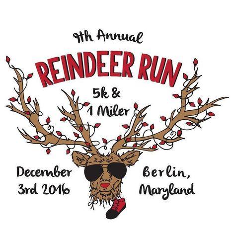 Reindeer Run 5k 2016 | Ocean City MD & Coastal DE Beach Real Estate - ShoreFun4U - BeachHomes4Sale & Rent - Susan Antigone - 'Sun, Sea, Style' | Scoop.it