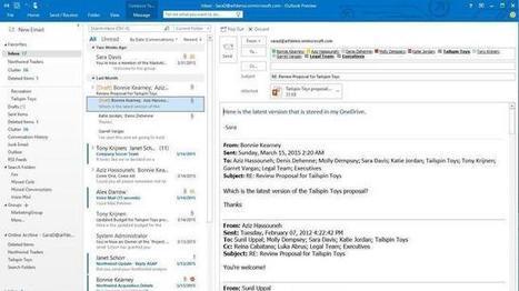 Microsoft prepara el lanzamiento del nuevo Office que apostará por entornos colaborativos   Vero Ponce   Scoop.it