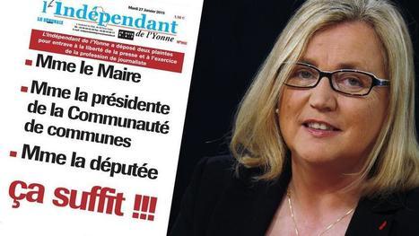 Dans l'Yonne, la guerre est déclarée entre un journal local et une députée-maire   DocPresseESJ   Scoop.it