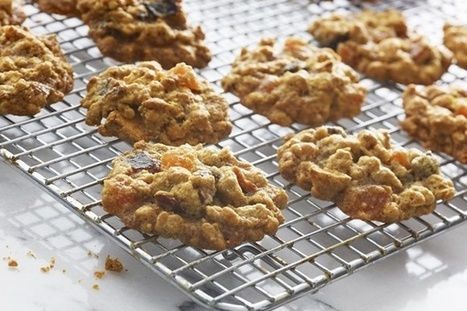 Healthy Vegan Granola Cookies Recipe (Dairy-Free) | My Vegan recipes | Scoop.it