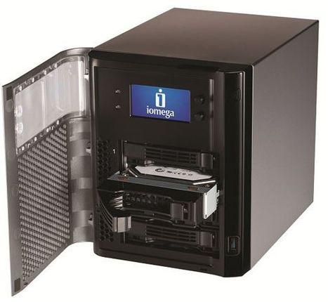 Iomega sort des solutions NAS pour PME avec SSD et réplication | LdS Innovation | Scoop.it
