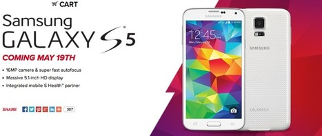 Virgin Mobile getting Samsung's Galaxy S 5 on May 19 | Android Discussions | Scoop.it