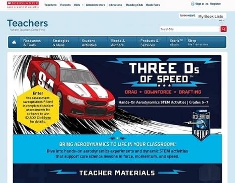 NASCAR Stressing Importance Of STEM Education - Tech Times   STEM   Scoop.it