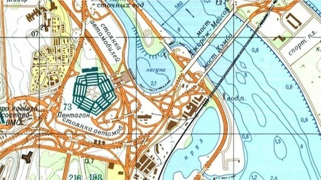 Fun Maps: Look at This Disturbingly Accurate SOVIET MAP of NYC in the Cold War | URBANmedias | Scoop.it