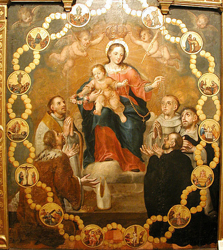 The Month of the Rosary is October | The Religion Teacher | Catholic Religious Education | Religion | Scoop.it