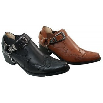 Mens Tan Brown Black Leather Shoes Boots | Mens clothing | Scoop.it