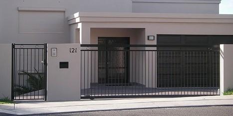 Aluminium Louvre Gates | Aluminum Pool Fences | Scoop.it