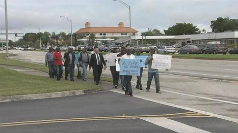 South Florida community marches in support of man killed while trying to stop his car from being towed (VIDEO) | The Billy Pulpit | Scoop.it