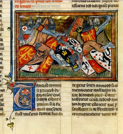 Herald Dick Magazine: Héraldique médiévale : Les Chroniques de Guillaume de Tyr (XIVe siècle) | Rhit Genealogie | Scoop.it