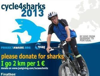 #Scuba Diver Cycles Across Europe to Help End #Shark Finning | ocngirl | Scoop.it