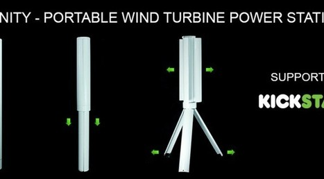 Une éolienne USB transportable | Renewables Energy | Scoop.it