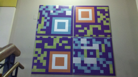 Destructured QRcode Art | Designer Qrcodes | Scoop.it