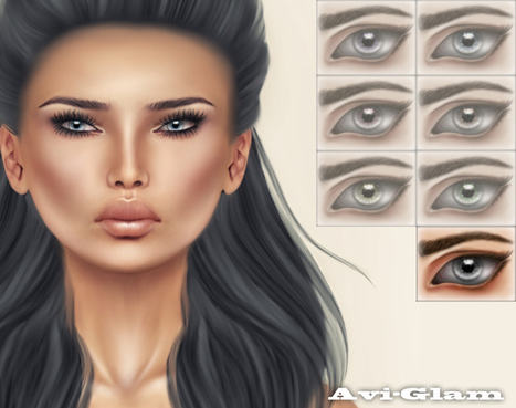 AG. Illusion Eyes / Grey (gift) – 0 Linden | 亗 Second Life Freebies Addiction & More 亗 | Scoop.it
