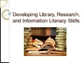 Chapter 11 developing library research and information literacy skills | Information Literacy in Middle Grades Education | Scoop.it