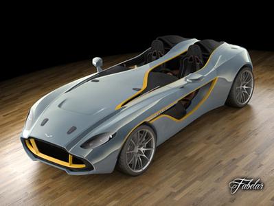 Aston Martin CC 100 3D | 3D Library | Scoop.it