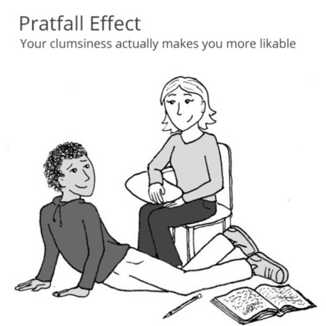 The Pratfall Effect | Self Improvement & Business | Scoop.it