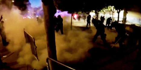 Trump Protesters Hit With Smoke Grenades In Clashes With Albuquerque Police | Upsetment | Scoop.it