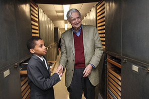 Young bug enthusiast meets his hero, EO Wilson | Rainforest EXPLORER:  News & Notes | Scoop.it