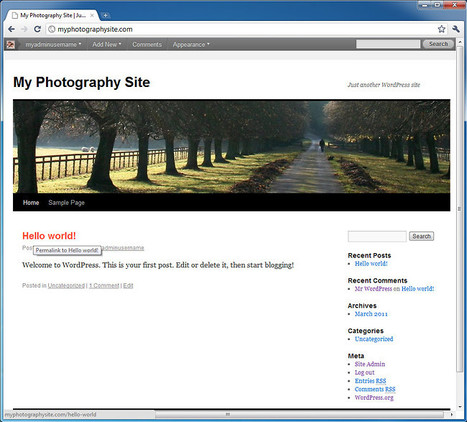 How to Create a Photography Blog – Part 2 | Photography Gear News | Scoop.it