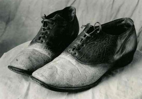 The human skin shoes of outlaw Big Nose George Parrot | Criminal Justice in America | Scoop.it