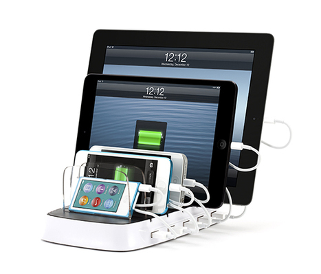 Charge Most Of The Things With Griffin's PowerDock 5 Gadget Dock   Gadgetsteria   Gizmos and gadgets   Scoop.it