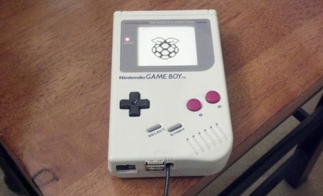 Raspberry Pi is right at home inside of a Game Boy | Raspberry Pi | Scoop.it
