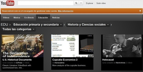 Canales educativos por Youtube | Didactics and Technology in Education | Scoop.it