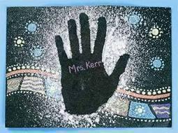 Aboriginal Hand Prints Lesson Plan   Year 4 History   Scoop.it