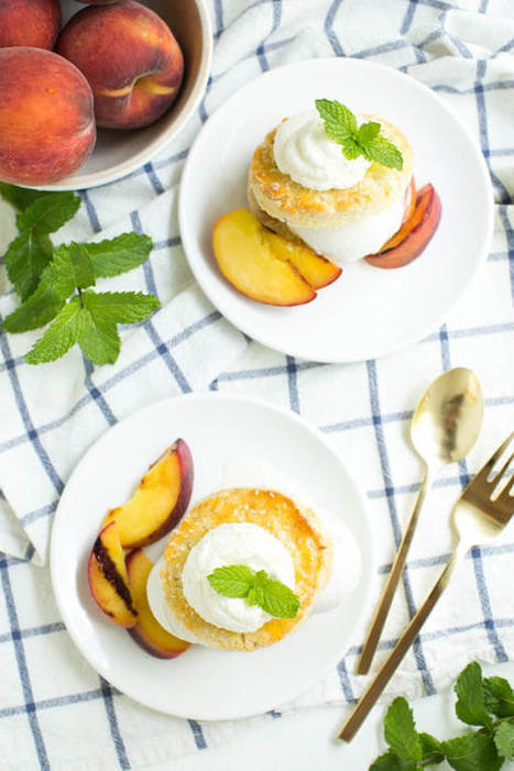 Grilled Peaches and Cream Shortcake | Passion for Cooking | Scoop.it