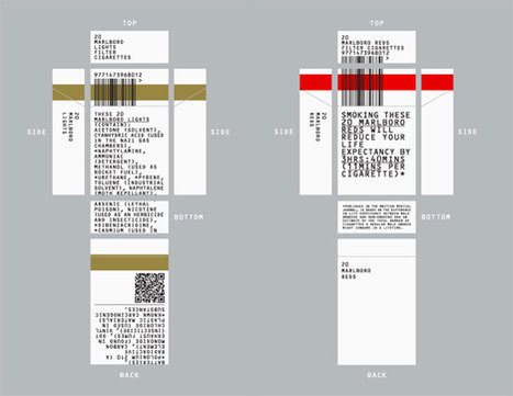 """""""Rethink"""": Debranded cigarette packaging by Build for ICON   Art, Design & Technology   Scoop.it"""