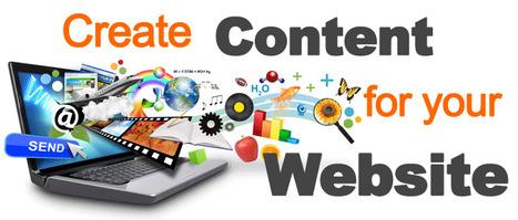 How to Create a Website Step 11 Create Content for your Website | Curación de Contenidos y rol del docente | Scoop.it